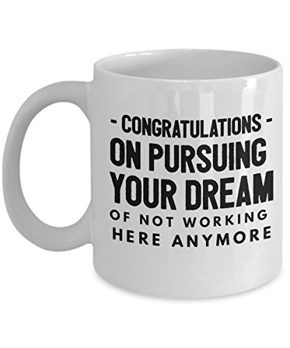 c41d0b4b21cc Funny Colleague Coworkers Mugs Gifts Best Coffee Tea Cup Friend Retirement  boss Goodbye Leaving Farewell for Going Away Thank You Leave Chocolate Men  Women ...