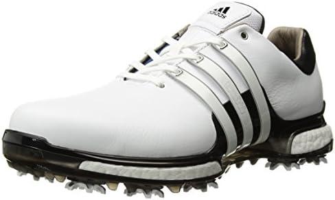 Adidas Men S Tour 360 2 0 Golf Shoe White Black 8 Wide Us Amazon Sg Fashion