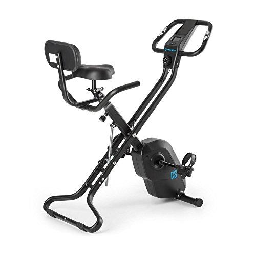 Capital Sports Azura X1 X-Bike – ergometer, hartslagmeter, 8 niveaus weerstand, 7 niveaus verstelbaar, rugleuning, max…