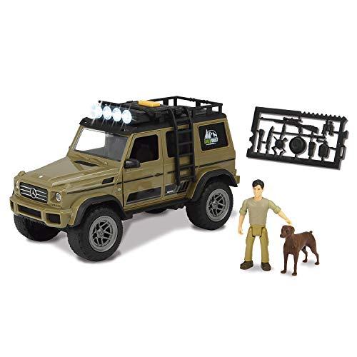 Set M Playlife de caza AMG 500 con figura y accesorios (Dickie 3834002): Amazon.es: Juguetes y juegos