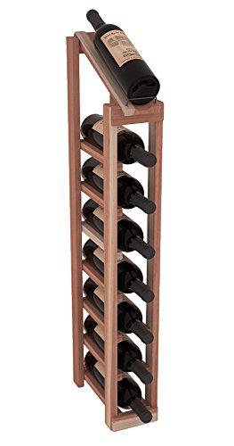 Wine Racks America Redwood 1 Column 8 Row Display Top Kit. 13 Stains to Choose From! by Wine Racks America