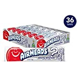 Airheads Candy, Individually Wrapped Bars, White Mystery,Easter Basket Stuffers, Non Melting, Party, 0.55 Ounce (Pack of 36)