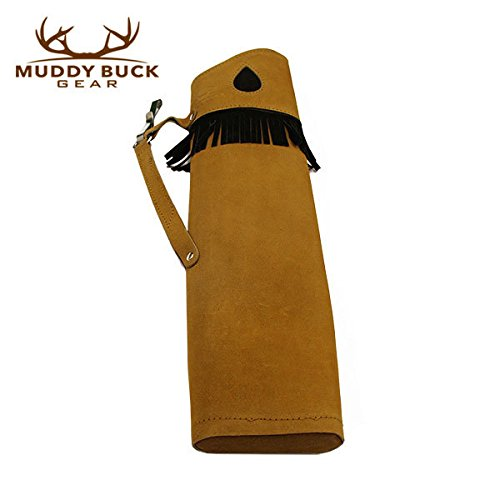 Muddy-Buck-Gear-Tan-Suede-Leather-Side-Quiver