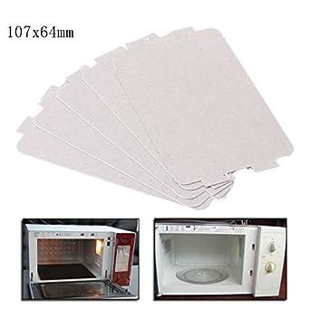 Amazon.com: 5 piezas de placa de microondas para horno Mica ...