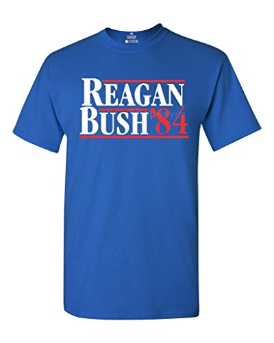 Shop4Ever Reagan Bush 84 T-shirt Presidential Campaign Shirts