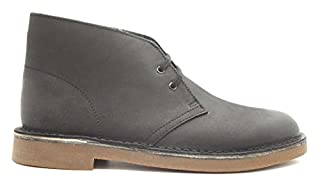 Clarks Men's Black Leather Bushacre 2 14 D(M) US (B00UWJ2C8W) | Amazon price tracker / tracking, Amazon price history charts, Amazon price watches, Amazon price drop alerts