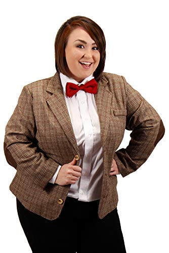 Doctor Who Costumes For Adults (elope Dr. Who Eleventh Doctor Jacket Womens Plus)