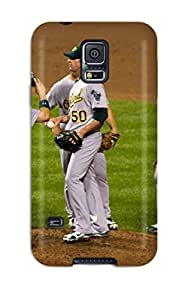 High-quality Durable Protection Case For Galaxy S5(oakland Athletics )