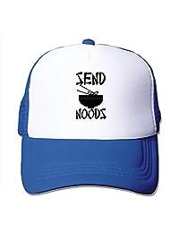 Custom Particular Unisex Send Noods - Noodles Nudes Pun Meme Hip Hop Hats Royalblue