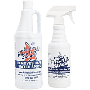 Amazon Com Bring It On Cleaner Shower Door Hard Water