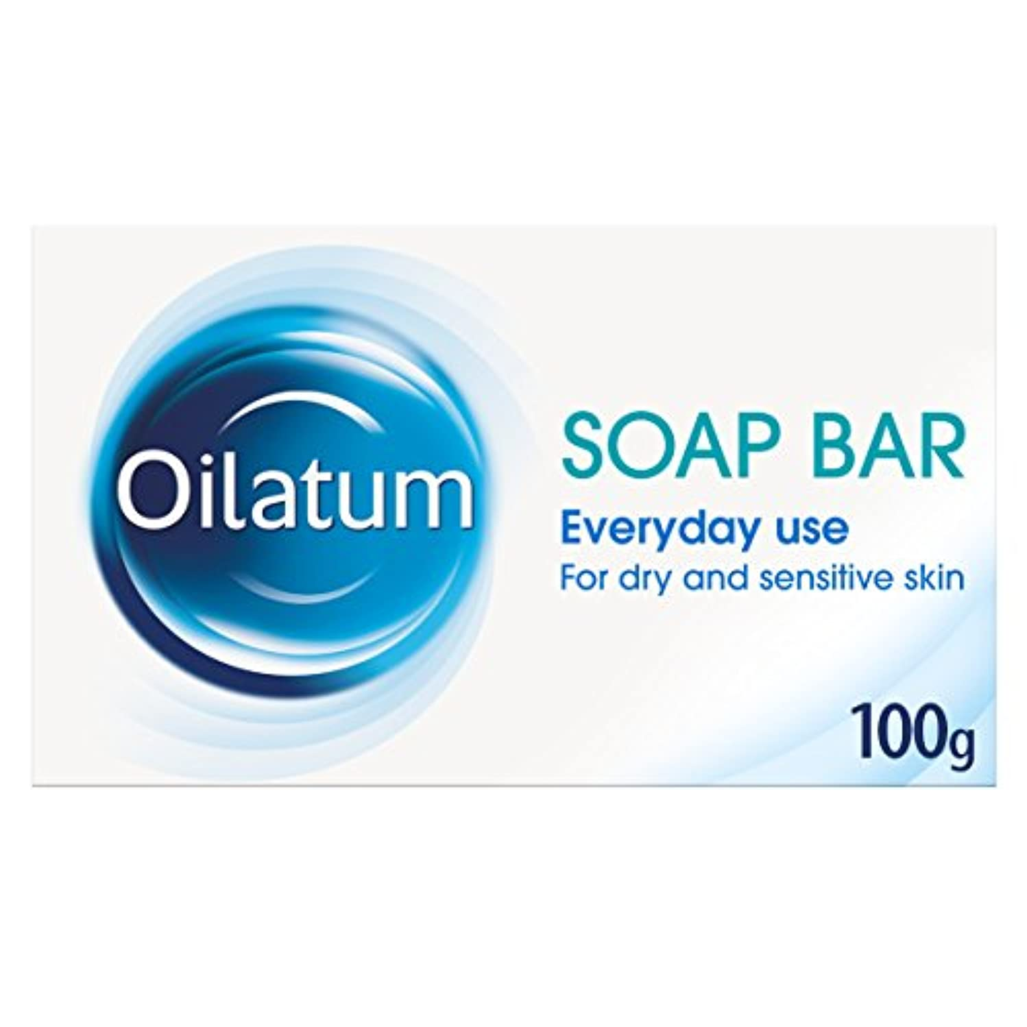 給料満了承知しましたOilatum 100g Soap Bar for Dry Skin