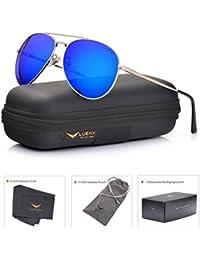 Mens Aviator Sunglasses Polarized :UV 400 Protection...