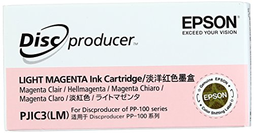 Epson Light Magenta Ink Cartridge For Discproducer Disc Publisher PP-100 C13S020449