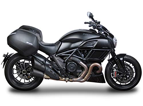 SHAD D0B36D0DV14IF-IN Ducati Diavel 12-17 SH36 Cases, 3P Side Mount and Inner Bag by SHAD (Image #1)