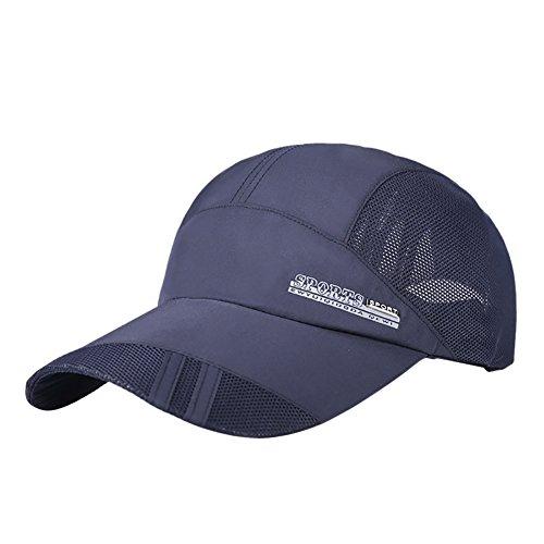 - Classic Baseball Cap Hat Sport Mess Cap Unisex Adjustable Plain Snapback Cotton Dad Cap Polo Style Women Men Youth Kids Boys Girls Father (Tibetan Blue)