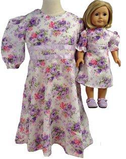 一致する少女と人形ラベンダーパープルドレスサイズ8 B010E9Q7OE B010E9Q7OE, エドガワク:775c58e7 --- arvoreazul.com.br