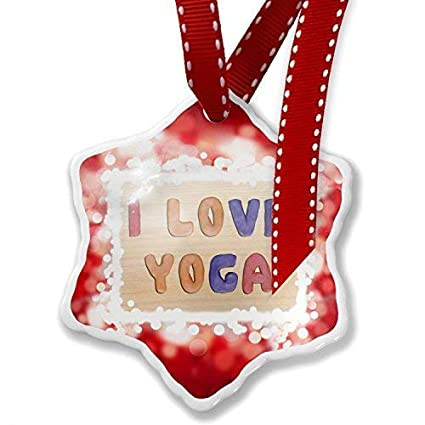 Amazon Com Lilithcroft99 I Love Yoga Colorful Kids Clay Red