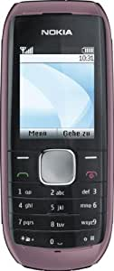 Nokia 1800 - Móvil libre color rojo [importado de Alemania]