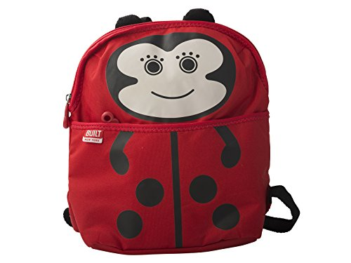 Built NY 5178564 Big Apple Buddies  Water Resistant Polyester Insulated Lunch Box Backpack, Lafayette Ladybug