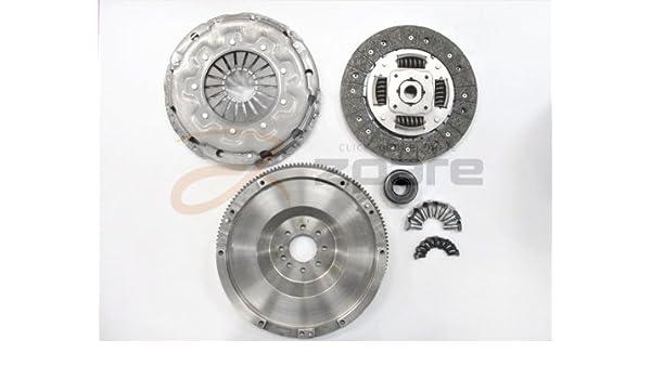 MILPAR Kit de Embrague + Volante Motor Rígida C4 Coupé (la_) 2.0 HDI/C4 I (LC_) 2.0 HDI: Amazon.es: Coche y moto
