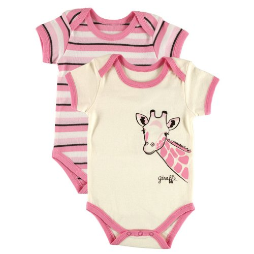 Hudson Baby Bodysuits, 2 Pack