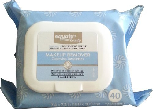 Makeup Remover Cleansing Towelettes 40ct by Equate Compare t