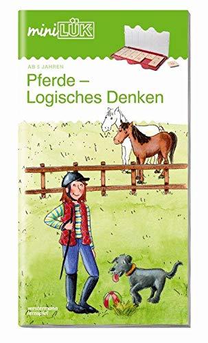 MiniLÜK Übungshefte   Vorschule  MiniLÜK  Vorschule  Pferde   Logisches Denken