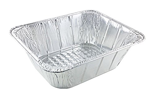 Handi-Foil Half-Size (1/2) Extra-Deep Aluminum Foil Steam Table Pan (Pack of (America Steam Table Pans)