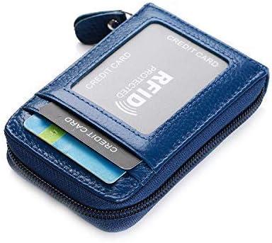 Tarjeta de Cuero Tarjeta de crédito de la Tarjeta de Visita Caso de la Tarjeta de