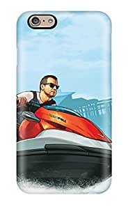 Flexible Tpu Back Case Cover For Iphone 6 - Grand Theft Auto V Cash Carry