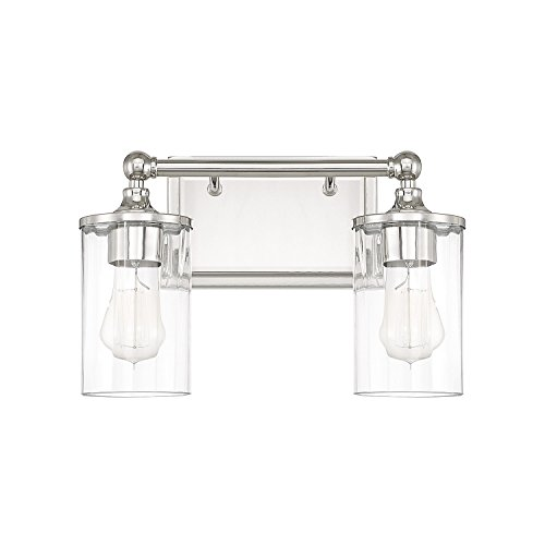 Capital Lighting 120721PN-423 Two Light Wall Sconce