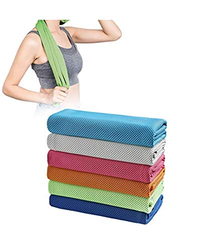 Yirind 1Pc Cooling Towel, Ice Towel for Neck Instant Cooling, Chilly Towel for Men Women Kids, Super Absorbent Microfiber Towel for Athletes, Workout, Sports, Fitness, Gym, Running, Camping