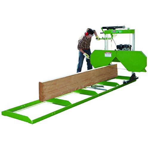 7 HP Portable Saw Mill with 280cc Gas Engine for Logs up to 22 In. Diameter and Flat Stock up to 20 In. Wide