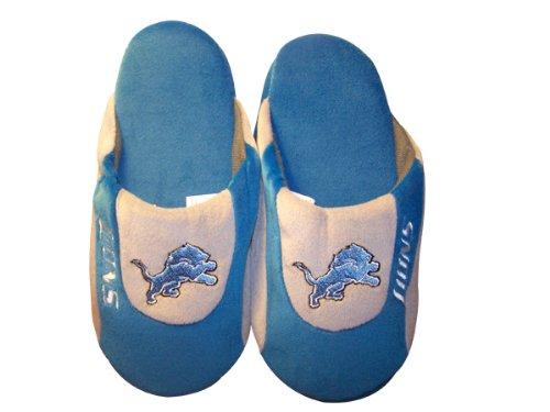 Happy Feet Og Komfortable Føtter - Offisielt Lisensiert Menns Og Kvinners Nfl Lav Pro Tøfler Detroit Lions Lav Pro