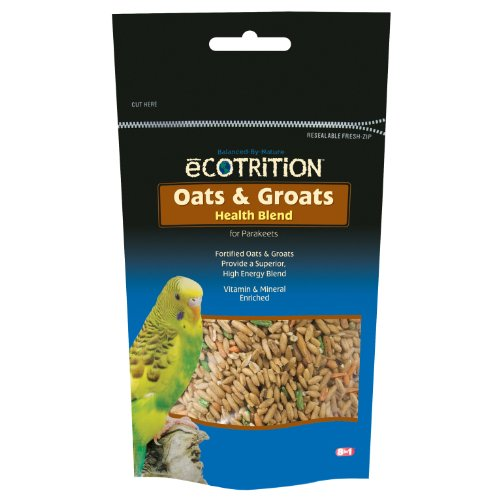 8in1 Parakeet Oats and Groats Canister, 8-Ounce, My Pet Supplies