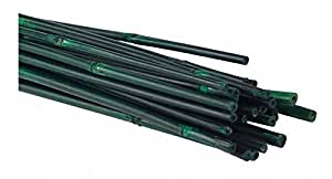 Estacas de bambú, verde, 2pies, 25Juego