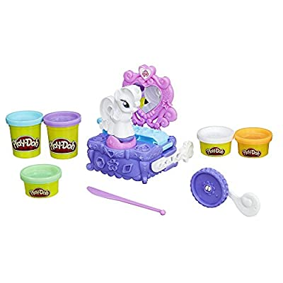 Play-Doh My Little Pony Rarity Style and Spin Set: Toys & Games