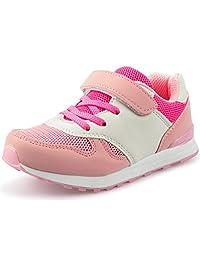 DADAWEN Kids' Girl's Boy's Breathable Light Weight Sneakers Running Shoes(Little Kid/Big Kid)