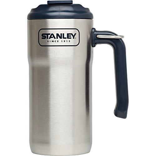 Stanley Adventure Travel Mug , Stainless Steel, 16 - Stanley Steel