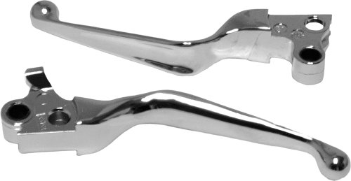 Emgo Wide Blade Brake Lever - Polished ()