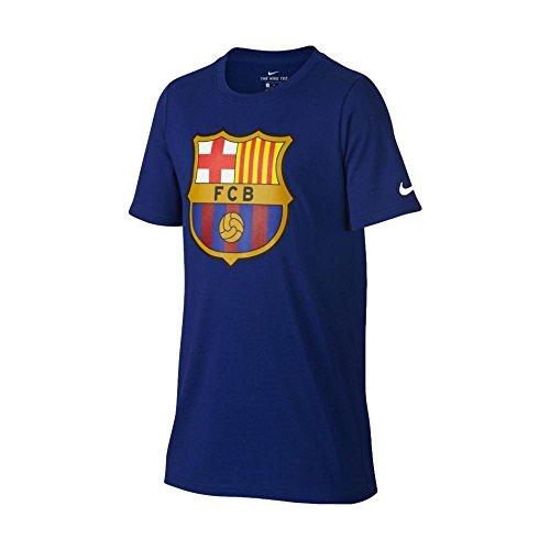 Nike Youth FC Barcelona Crest T-Shirt [DEEP ROYAL BLUE] – DiZiSports Store