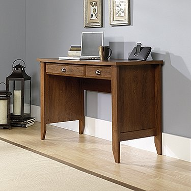 Sauder Shoal Creek Computer Desk, Oiled Oak (Sauder Oak Desk)