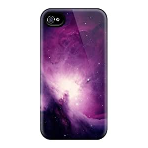 Hot Snap-on Galaxy In Purple Hard Covers Cases/ Protective Cases For Iphone 6plus