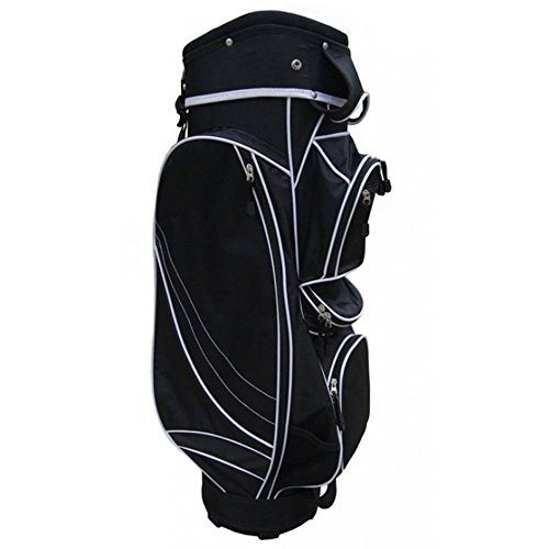 Precise Golf MX14 Cart Bag 2017 Black by PreciseGolf Co.