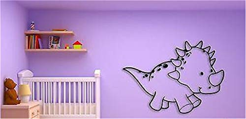 Wall Stickers Decal Removable Vinyl Decal Quote Art Kids Baby Dinosaur Cool Nursery Room