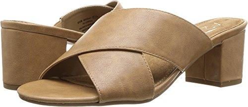 - Aerosoles A2 by Women's Midday Slide Sandal, Dark Tan, 8.5 M US