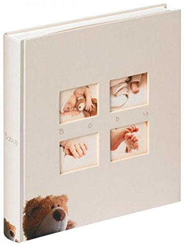 - Walther Classic Bear UK-273 Baby Album 28 x 30.5 cm, 60 White Pages