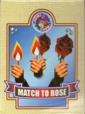 Allumette en rose Tour de Magie