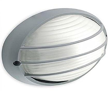 Plafoniere Con Griglia : Sovil illuminazione plafoniera ovale piccola con griglia linea
