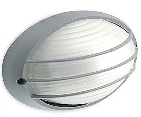 Sovil illuminazione plafoniera ovale piccola con griglia linea